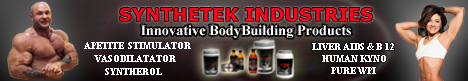 Synthetek Muscle Building And Fat Loss Products